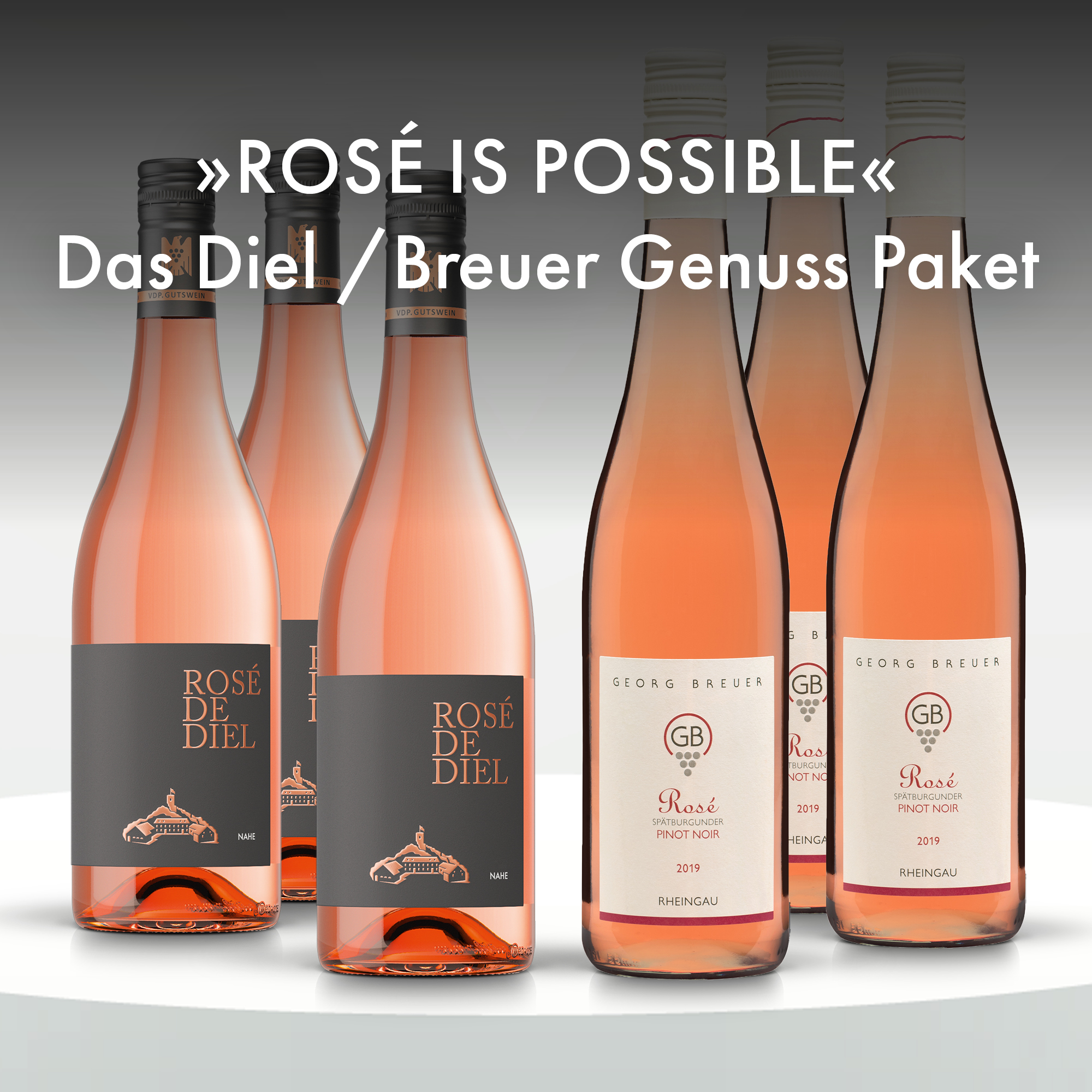 Collection 18 - Rosé is possible – Das Diel /Breuer Genuss Paket