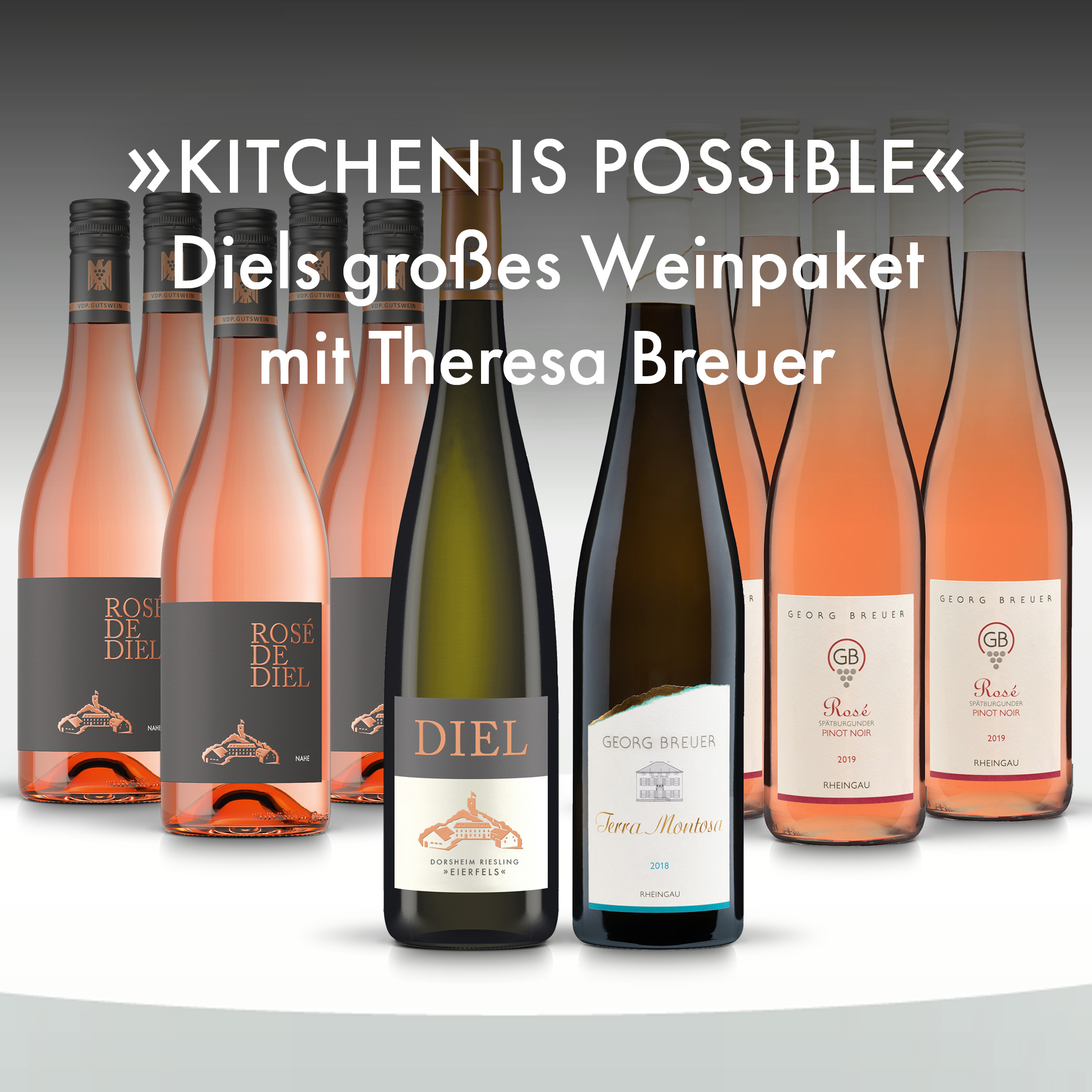 Collection 19 - Kitchen is possible : Diels großes Weinpaket mit Theresa Breuer